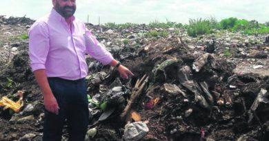El justicialismo pide informes por los ataúdes quemados