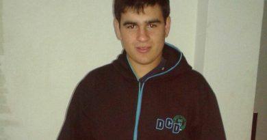 Federico Chiosso, el joven de Los Ángeles que perdiera la vida en el accidente
