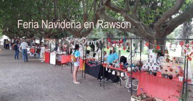 Feria Navideña en plaza San Martín