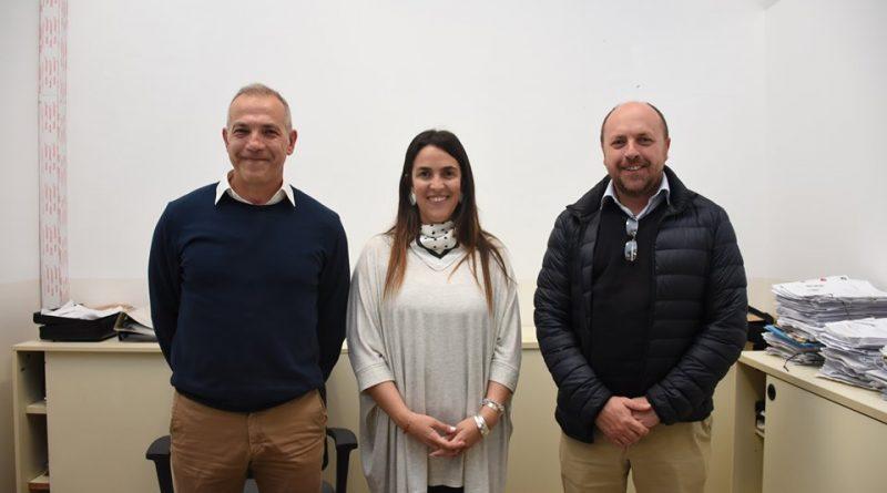 De izq. a derecha: Nanni, Zaccardi y Orsini