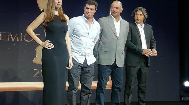 De izq. a derecha: Alberti, Lemme y Tapia