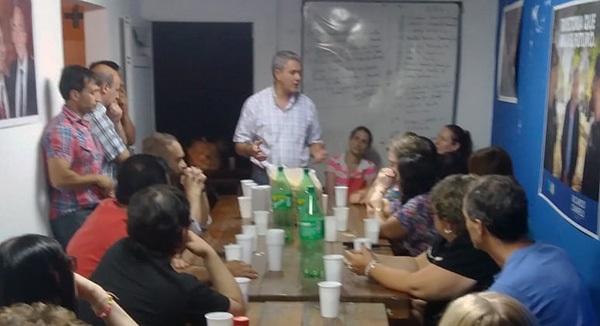 """Reunión y despedida de año en la Unidad Básica """"Eva Perón"""""""