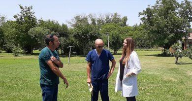 Juan Carlos Gómez, Dr. Sergio Buchhammer y Romina Sclavi