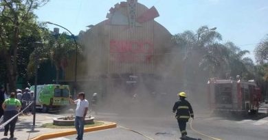 Incendio en Bingo Chivilcoy
