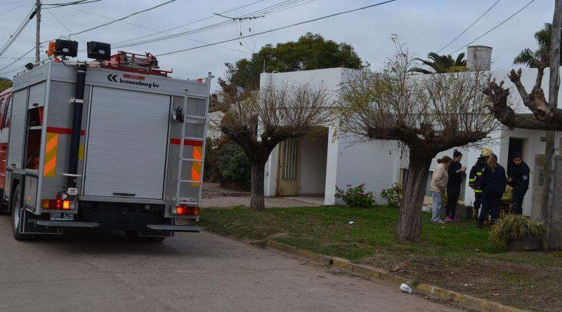 Se incendió una cocina y un extractor en una vivienda de Mary Verde.