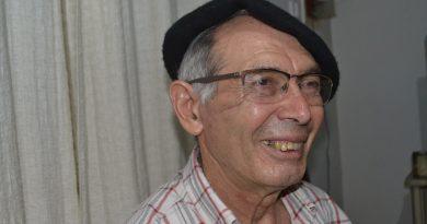 Jesús Roldan, ya recuperado de las heridas que recibiera de un vacuno