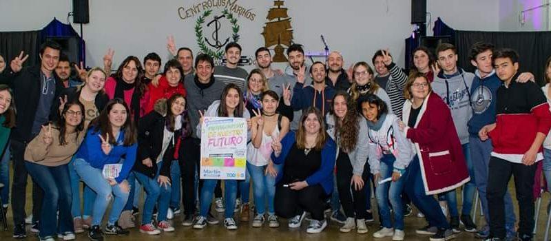 """Carnaghi en el encuentro de Jovenes """"Protagonistas de Nuestro Futuro"""""""