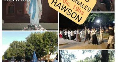 Fiestas Patronales en Rawson