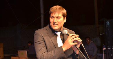Laureano Papini, presidente de la comisión organizadora de la XXXVI Fiesta Provincial de la Primavera