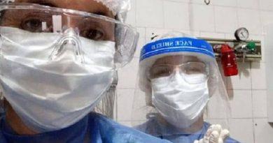 Covid-19: tres enfermeras de Rawson ya está cubriendo turnos en el Hospital de Castilla