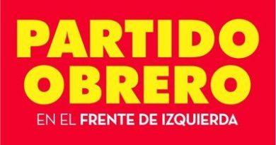 Partido Obrero – Frente de Izquierda Unidad.