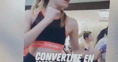 María Elisa Papini en una imagen del video