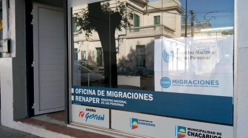 Ya funciona la oficina de Migraciones en Chacabuco