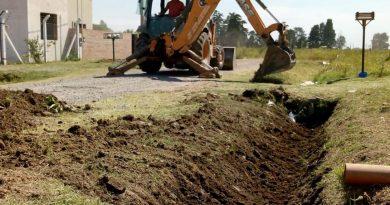 Obras y Servicios Públicos: continúa el trabajo en los barrios