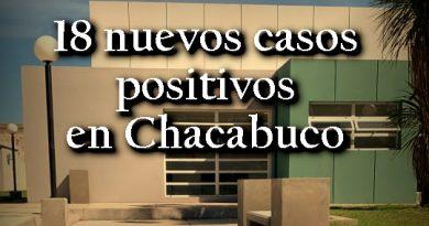 18 nuevos casos positivos de Covid-19 en Chacabuco