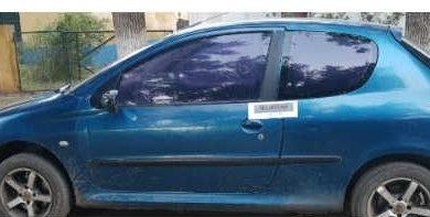 La Policía de Junín recuperó auto robado en Chacabuco