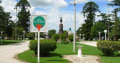 Plaza San Martín de Chacabuco