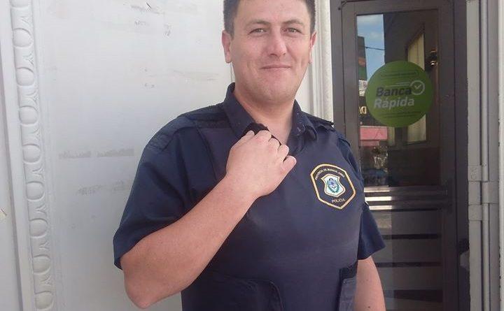 Agente del Policía de Chacabuco devolvió dinero que extravió vecino en sucursal de bancaria