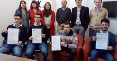 El Municipio reconoció a alumnos de la Escuela Técnica Nº 1