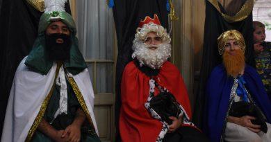 Llegaron los Reyes Magos a la Casa de la Cultura de Chacabuco