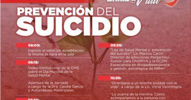 Salud mental: segunda jornada sobre prevención del suicidio