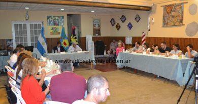 Sesión del HCD en Rawson