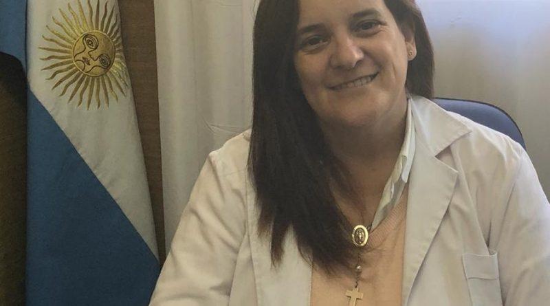 Médica pediatra, Silvina Charini