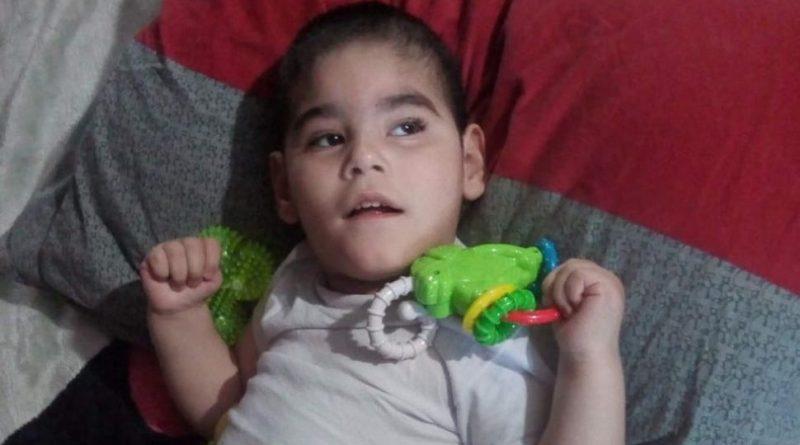 El niño de 3 años es oriundo de Chacabuco