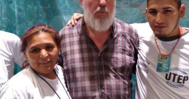 Movimiento Evita Chacabuco en el lanzamiento de la UTEP Sindicato la Unión de Trabajadores de la Economía Popular