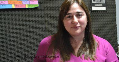 Yesica Berterame, directora de Salud